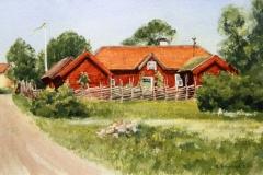 Gammelgarden-akvarell