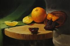 Apelsin och dadlar